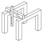 Kartesische Kinematik in Brückenbauweise