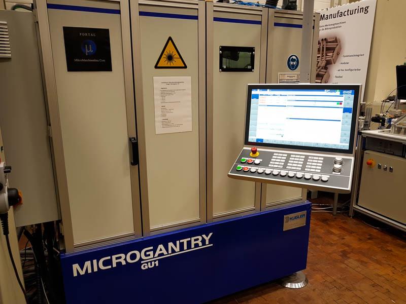 Retrofit Kugler Microgantry