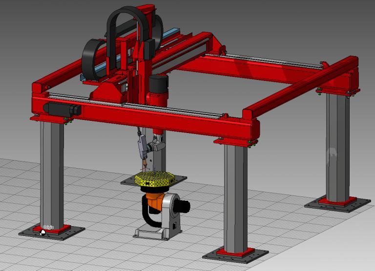 Reis Roboter in Frame