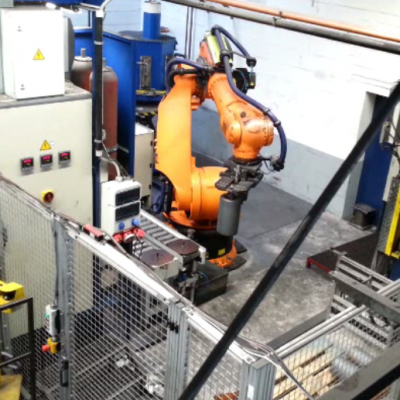 Roboter Handhabung Zellenansicht